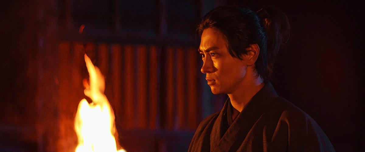 「武蔵-むさし-」劇中、蓮台寺の対決シーン